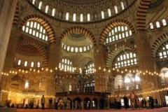 Selimiye Camii iç görünümü